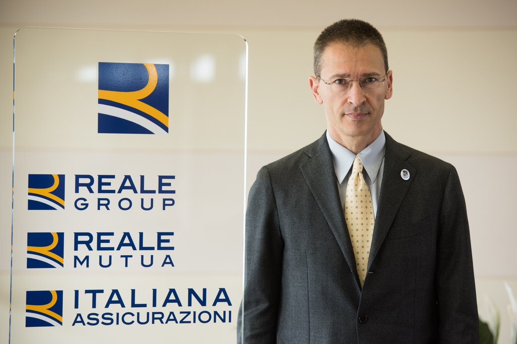 Marco Mazzucco, direttore distribuzione e marketing di Reale Mutua