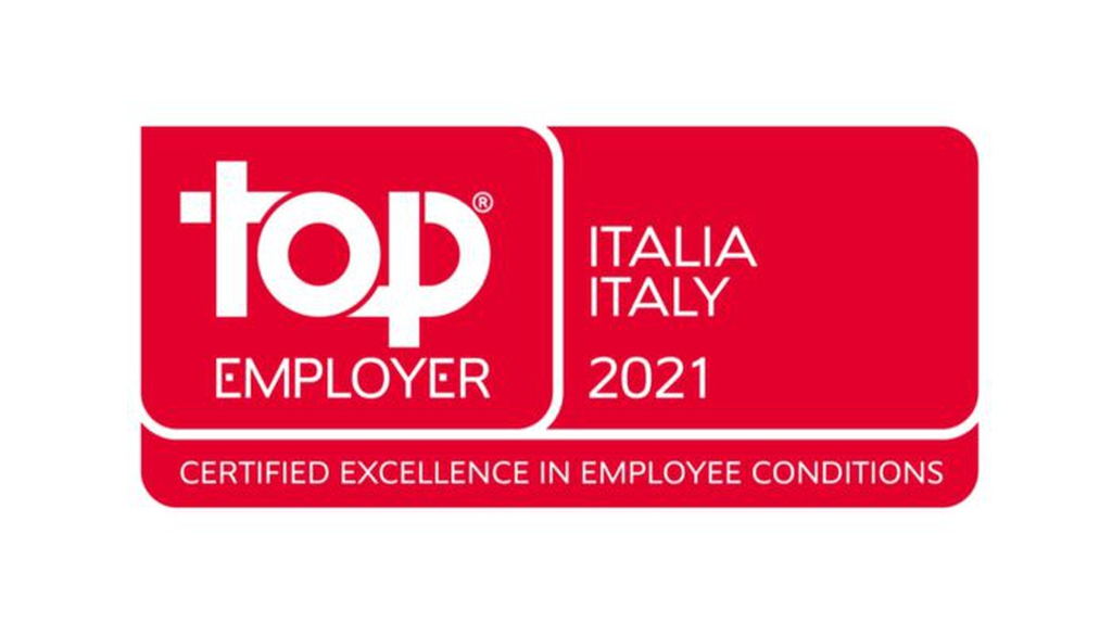 Il logo del Top Employer Italia 2021